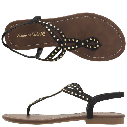 I need a pair of black sandals!Womens American EagleWomen's Whitney Sandal
