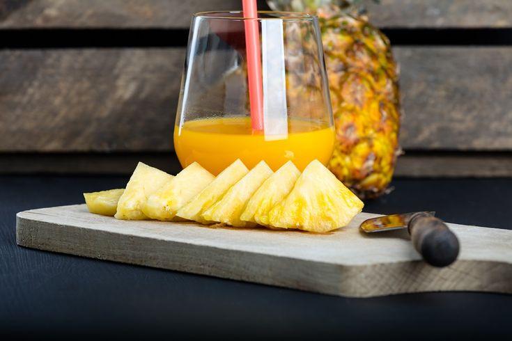 Sucul de ananas și proprietățile sale benefice împotriva răcelii și gripei