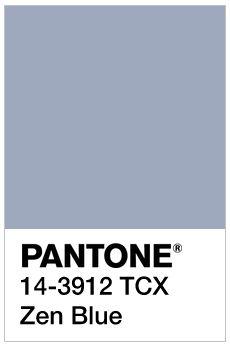Image result for Zen Blue pantone