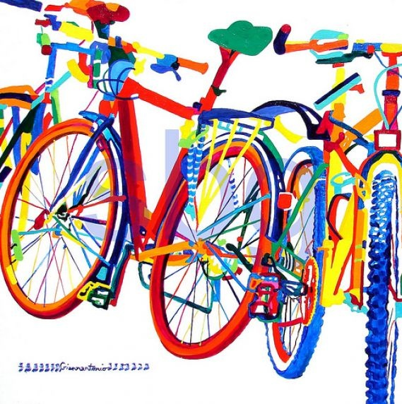 As bicicletas de Susan Giannantonio -#bike #art