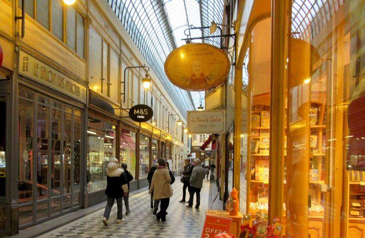 Galerie Vivienne:  The historic shopping passages of Paris
