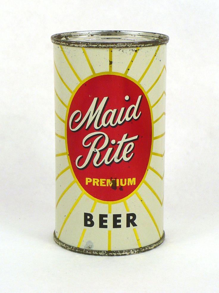 Maid Rite Premium Beer , Grace Bros. / Santa Rosa ,CA ~1960
