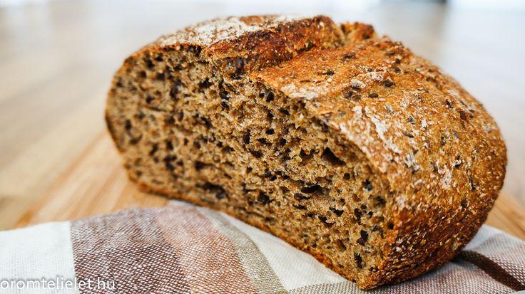 Egyszerű kenyérsütés sütőben