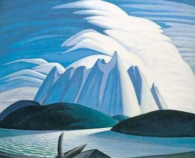 Lake and Mountains by Lawren Harris, Group of Seven