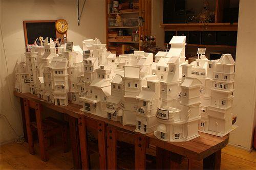 white paper city