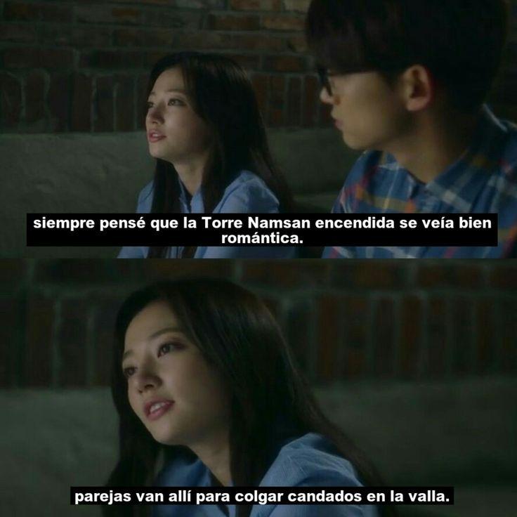 Taecyeon (Do Jin Woo) & Song Ha Yoon(Jin Hee Young) #korea #cute #couple #minidrama #TorreNamsan #romance