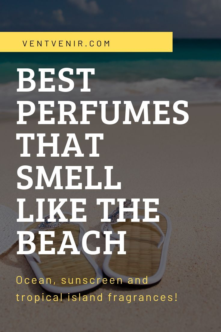 Top 15 Perfumes That Smell Like The Beach in 2020 | Beach