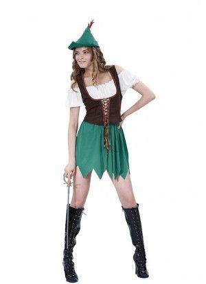 Robin Hood Lady Costume                                                                                                                                                                                 More