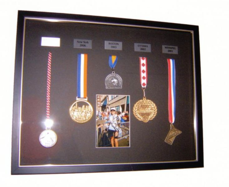 Marathon Medals | Examples | Custom Framing | Pictures Frames and More