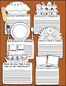 Thanksgiving-Writing-Prompts-2028262 Teaching Resources - TeachersPayTeachers.com