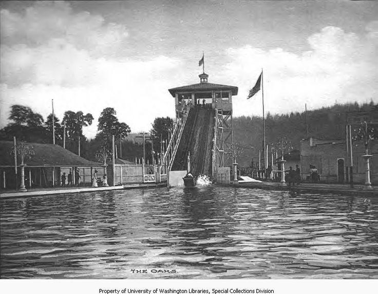 Oaks Amusement Park 1905-1916   A City of Roses , My home ...