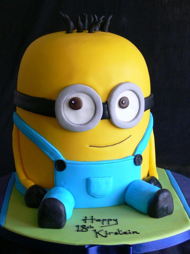 Minion #Kevin #yellow #blue  Birthday Cakes  Pinterest  Kevin ...