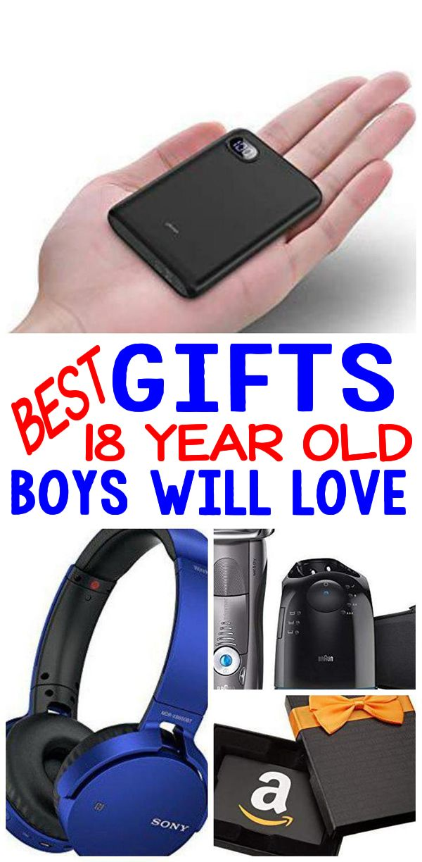 BEST Gifts 18 Year Old Boys Will Love