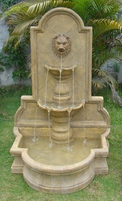 Charmant LION HEAD WATER FOUNTAIN TWO TIER INDOOR OUTDOOR FLOOR WATER FOUNTAIN  Http://stores