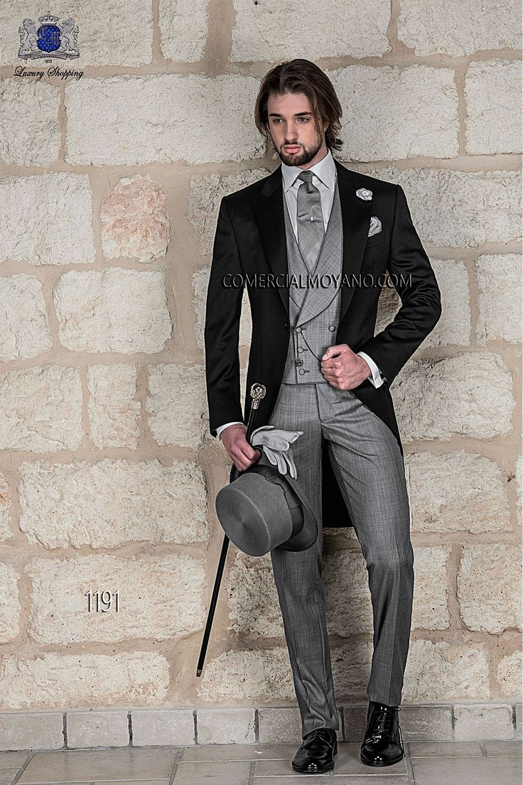 Gentleman black men wedding suit, model: 1191 Ottavio Nuccio Gala ...