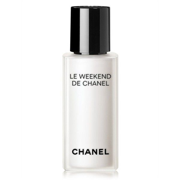 Chanel Beauty Le Weekend De Chanel Weekly Renewing Face Care ($115) ❤ liked on Polyvore featuring beauty products, skincare, face care, beauty, moisturizers, natural, chanel, chanel skincare and chanel skin care