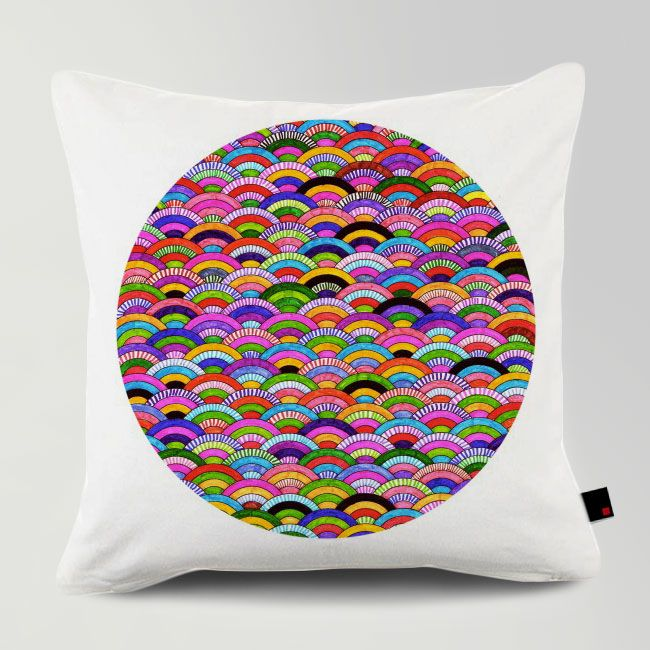 A GOOD DAY / Designed by Fimbis / Made by OneRevolt.com / #쿠션 #원리볼트 #인테리어 #홈데코 #pattern #design #cushion