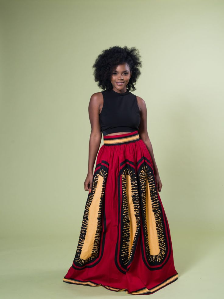 ADESINA NOELLE MAXI SKIRT ~DKK ~ Latest African fashion, Ankara, kitenge, African women dresses, African prints, African men's fashion, Nigerian style, Ghanaian fashion.