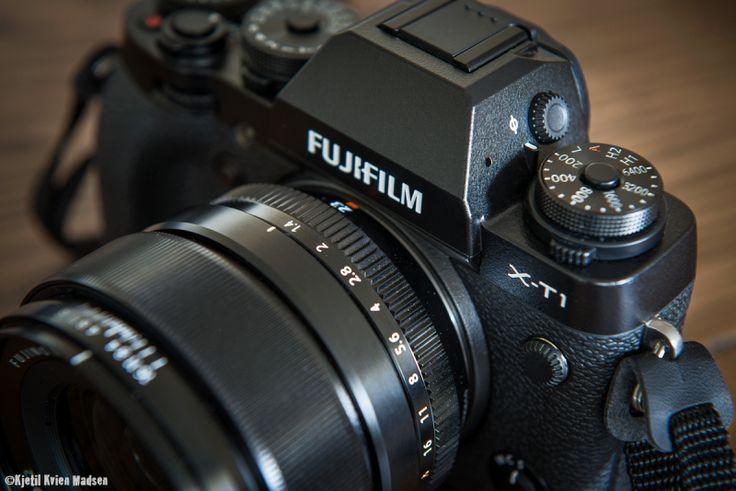 Using the Fuji X-T1