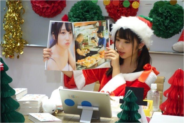 """(画像3/5)乃木坂46与田祐希""""自前""""サンタコス姿 クリスマスはどう過ごした?"""