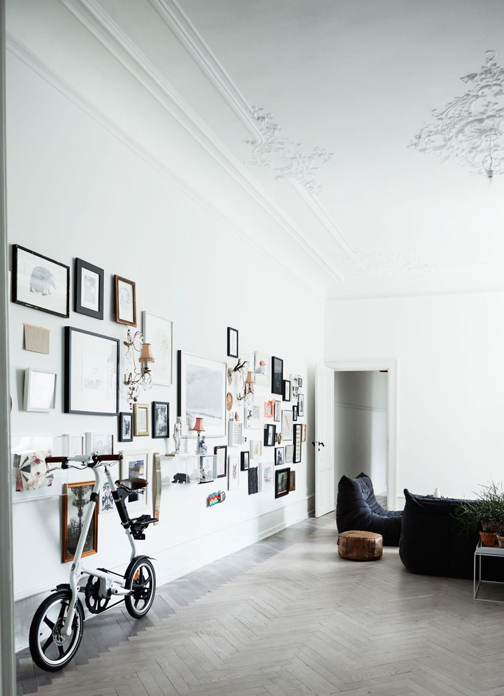 enormous copenhagen apartment with high ceilings