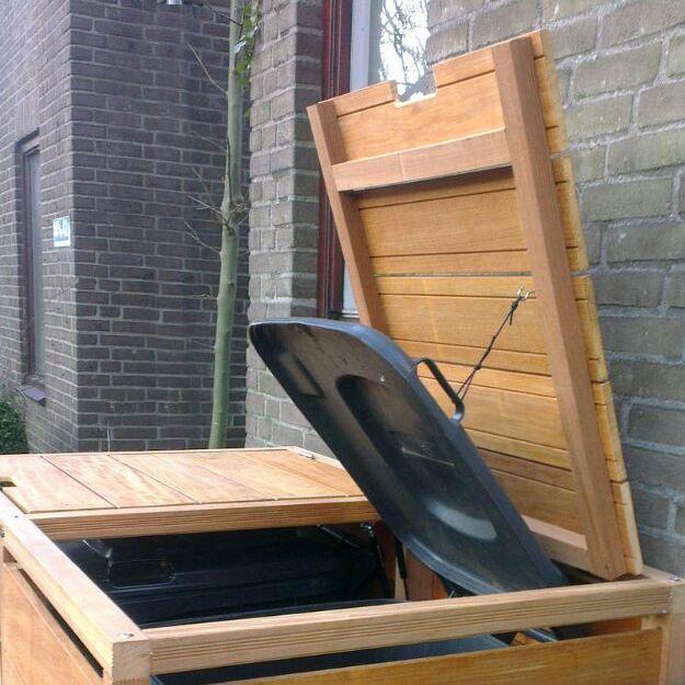 Kliko ombouw deksel hardhout de Buitenboel
