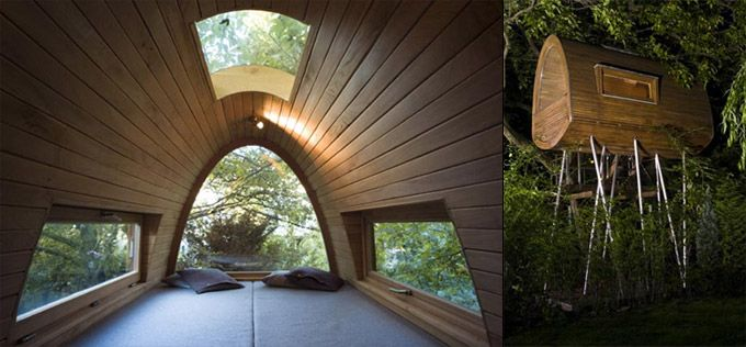 In not just eco-lodges, but also in luxury resorts, spas and hotels, wood is becoming the material of choice.