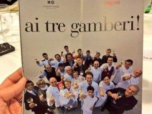 #comeinfamiglia: Contadi Castaldi e la cena dei Tre gamberi 2014 -