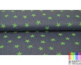 Online jogging ster groen,jeans kopen? Bestel nu bij Happy Textiles!
