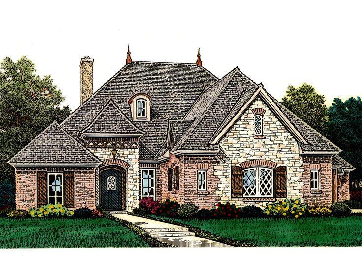 74 Best House Plans Images On Pinterest European House