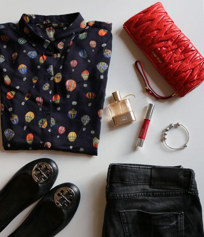 Look #1 Hot-air balloon shirt
