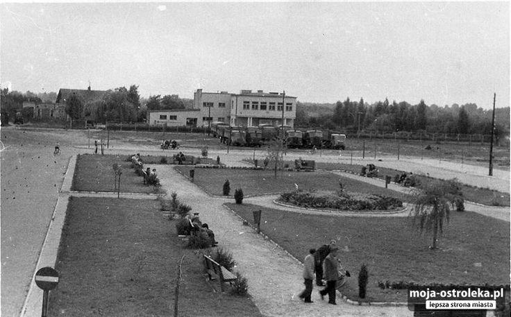 Ostrołęka powojenna (fot. archiwum prywatne)/ Plac Bema 1957