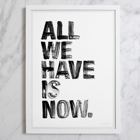Framed Art | All We Have | Blacklist Studio #worthynzhomeware wwworthy.co.nz