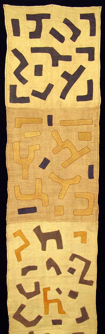 Kuba textiles from the Congo