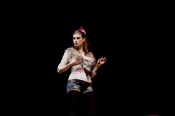 Beatrice Pedata è La Mocciosa  [fotografia di Chiara Fracassi]