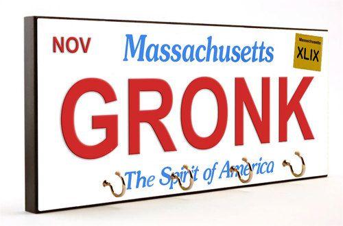 Gronk Super Bowl Winners Key Hanger