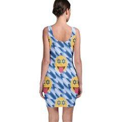 chanukkah hanukkah Emoji Bodycon Dress