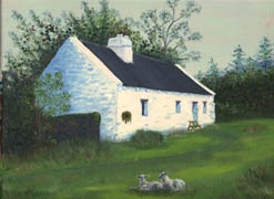 A painting by R. Ross, from a picture taken in Ireland