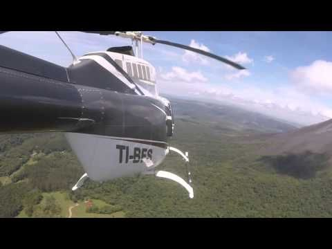 Tour Volcán Arenal  - HeliJet - Air Charter Costa Rica - YouTube
