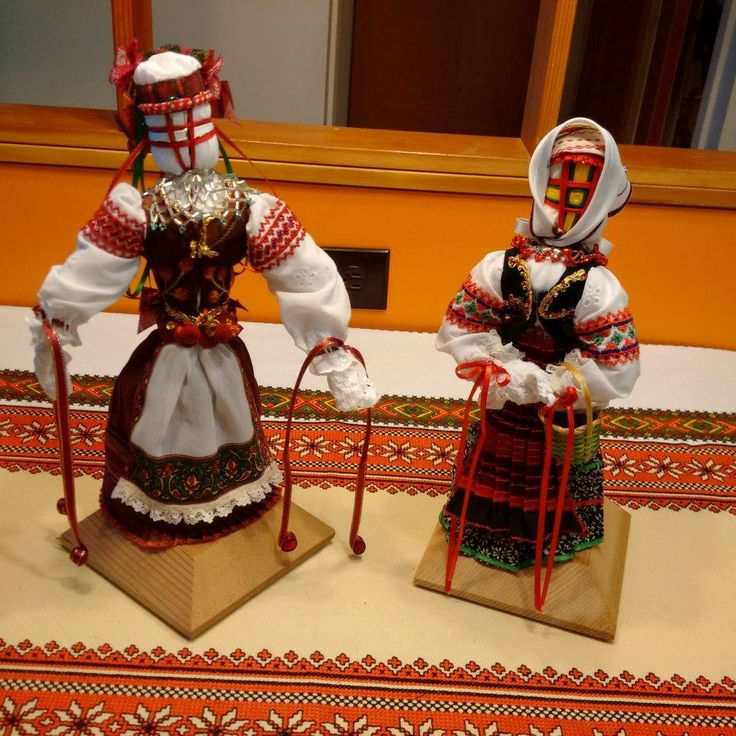 Lemko Costume Motanky by Bohdanna Pankiw 2015