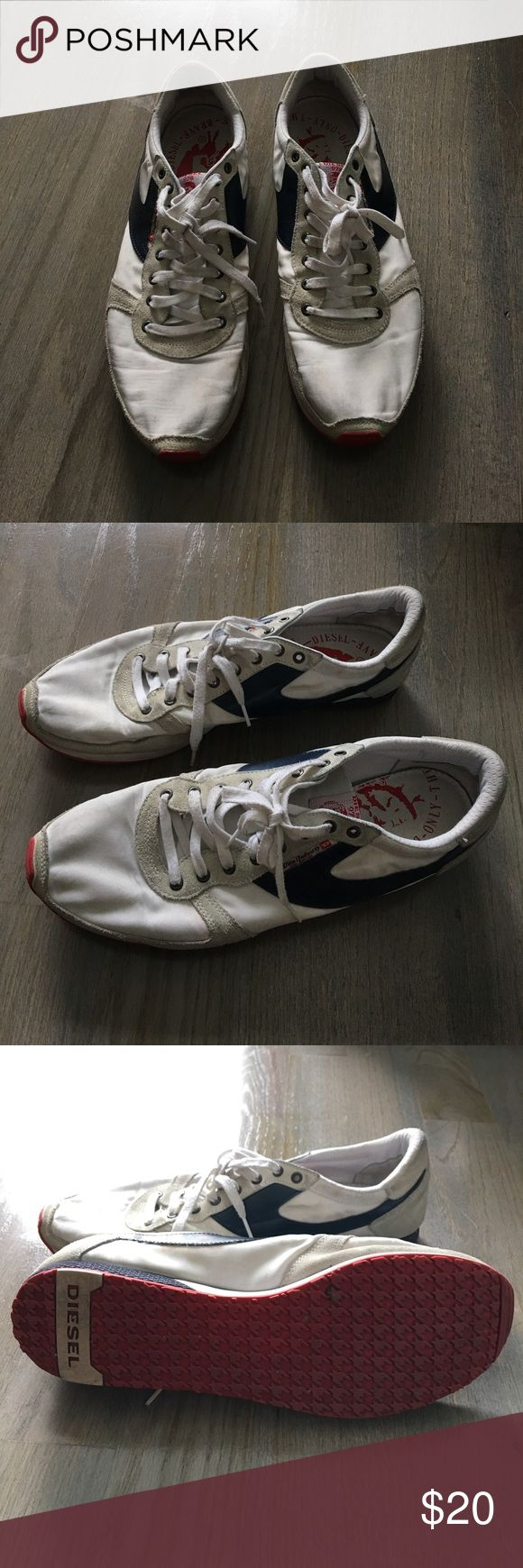 Men's Diesel Shoes In decent condition. See for yourself. Very comfortable. Diesel Shoes Sneakers