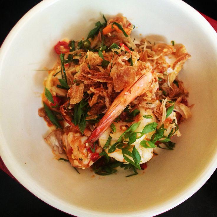 Plah scallop& shrimp