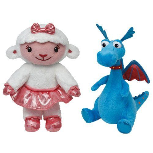 Ty Beanie Babies Doc McStuffins - Dragon Stuffy and Girl Lambie Set of 2 Plush Toys Ty Beanie Babies http://www.amazon.ca/dp/B00I8RKXWC/ref=cm_sw_r_pi_dp_zQFBub1M1C4RG