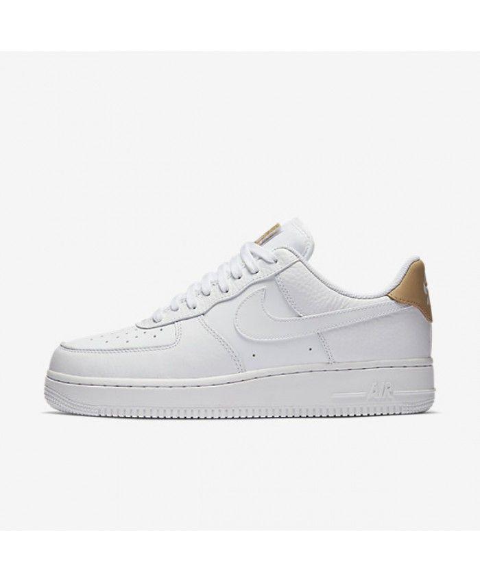 timeless design fdc68 fd0ee Nike Air Force 1 07 LV8 White Gum Light Brown Vachetta Tan Men s