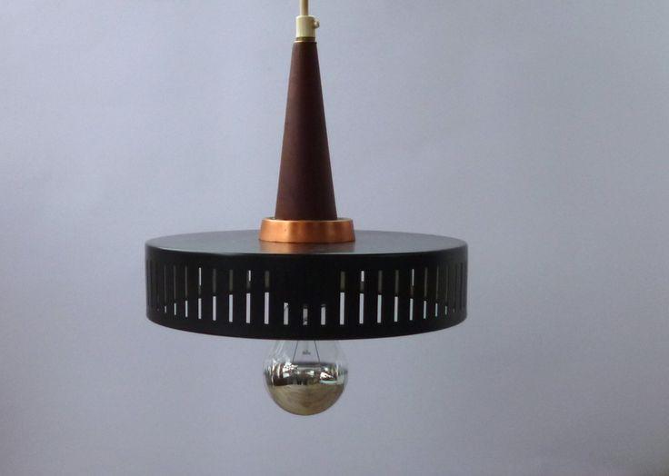 60er Deckenlampe danish design von MAISON MIA auf DaWanda.com