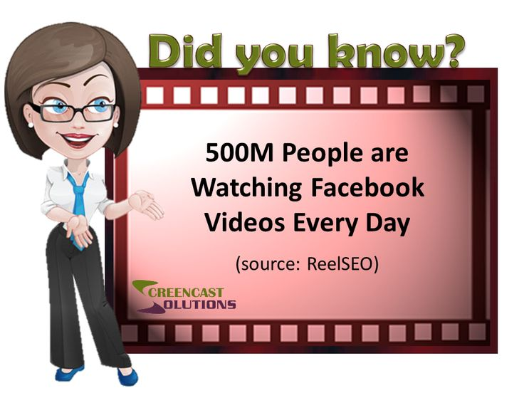 500M People are Watching Facebook Videos Every Day (ReelSEO)