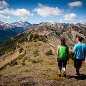 Summer hiking in the Canadian Rockies