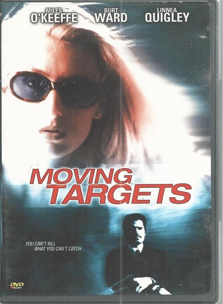 Miles OKeefe Linnea Quigley Moving Targets DVD  2002 Burt Ward #KeyDVD