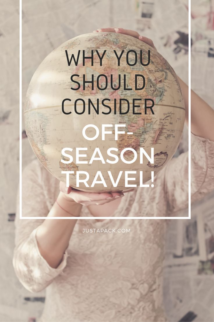 What is the best time to travel? It  may not necessarily be during peak season! Click here to discover why you should travel in the off-season.