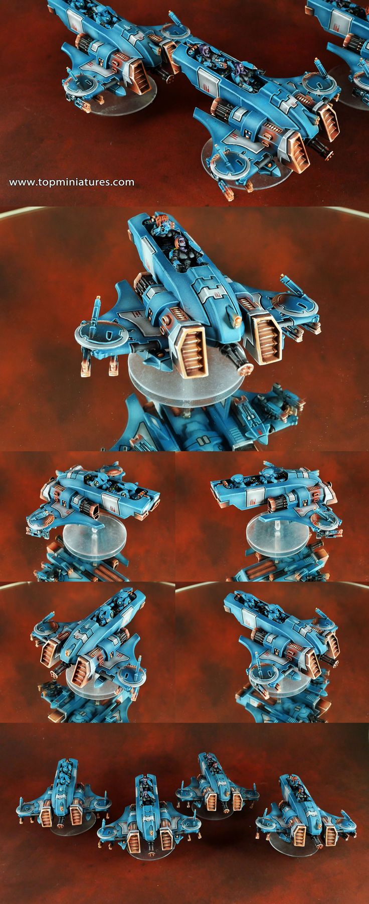 Warhammer 40k tau empire piranha conversion with female crew